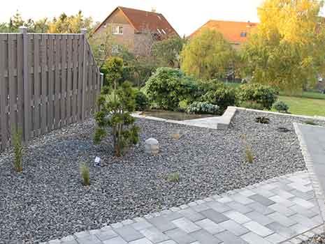 Grün Pflasterarbeiten Kropp Garten Landschaft